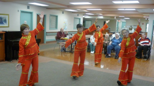 Performing at Belvedere Seniors Residence