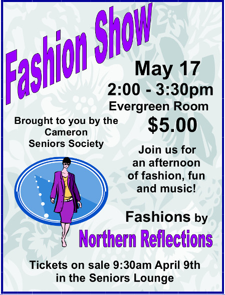 Fashion Show May 17, 2018